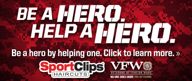 Sport Clips Haircuts of Hampstead ​ Help a Hero Campaign